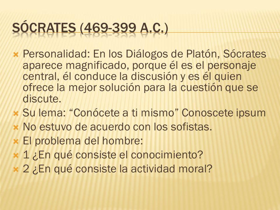 Sócrates (469-399 a.c.)