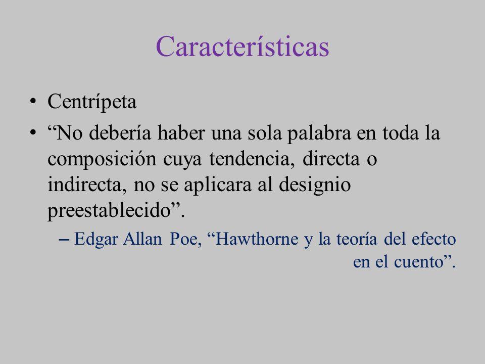 Características Centrípeta