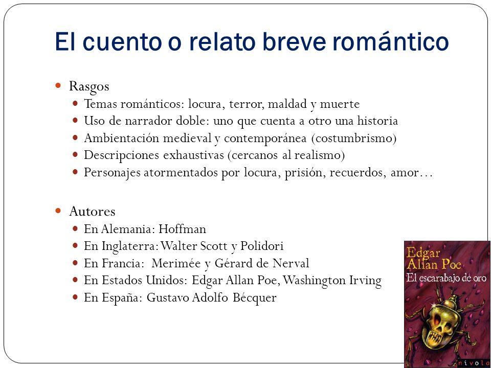 El cuento o relato breve romántico