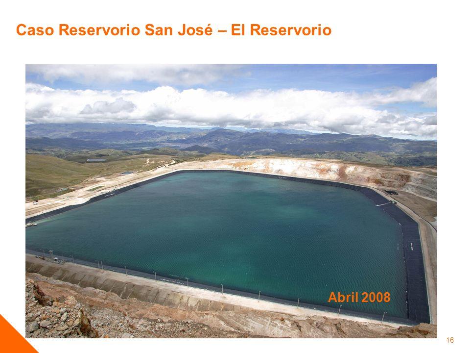 Caso Reservorio San José – El Reservorio