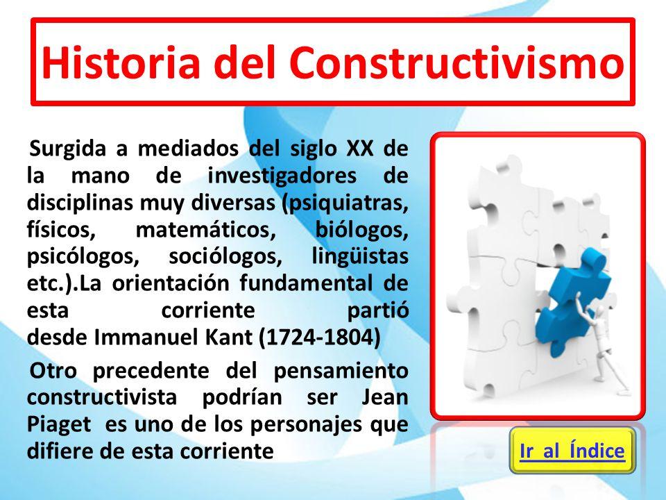Historia del Constructivismo