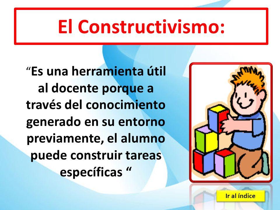 El Constructivismo: