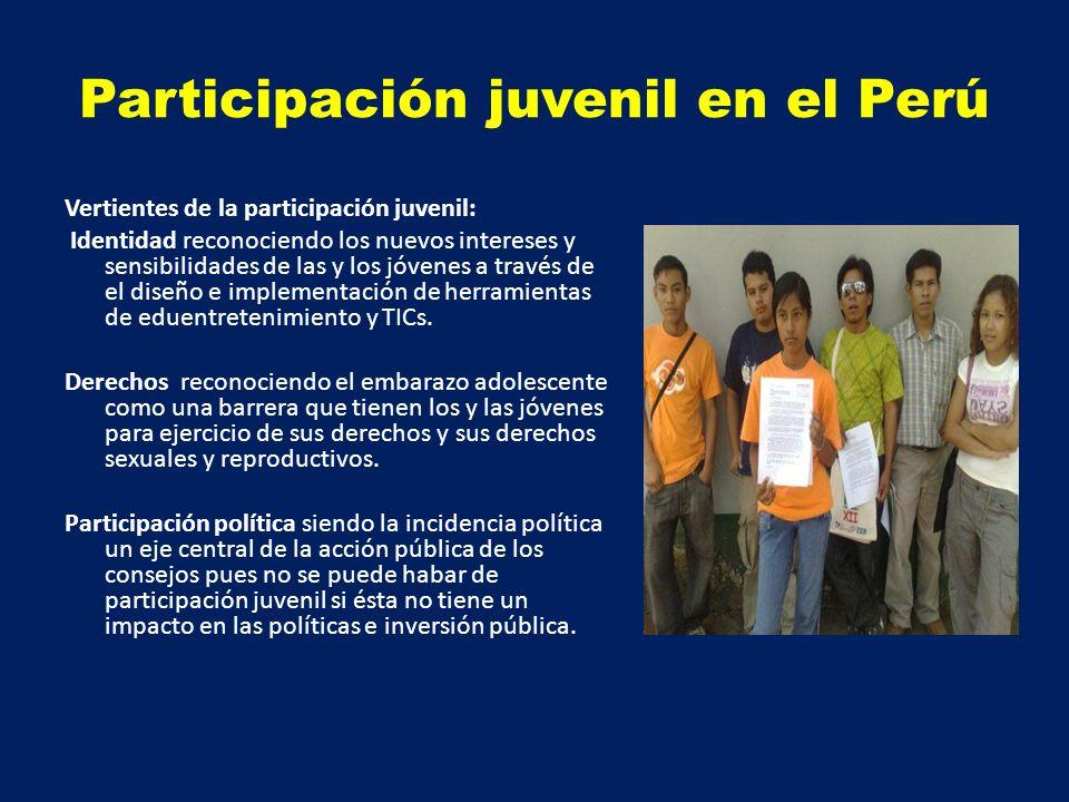Participación juvenil en el Perú