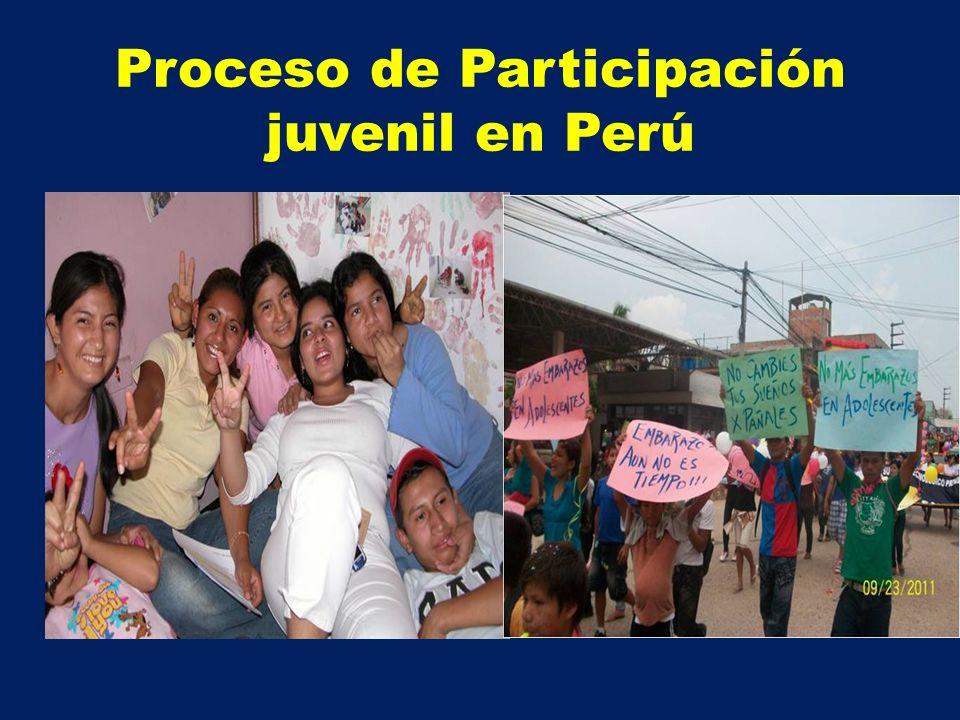 Proceso de Participación juvenil en Perú