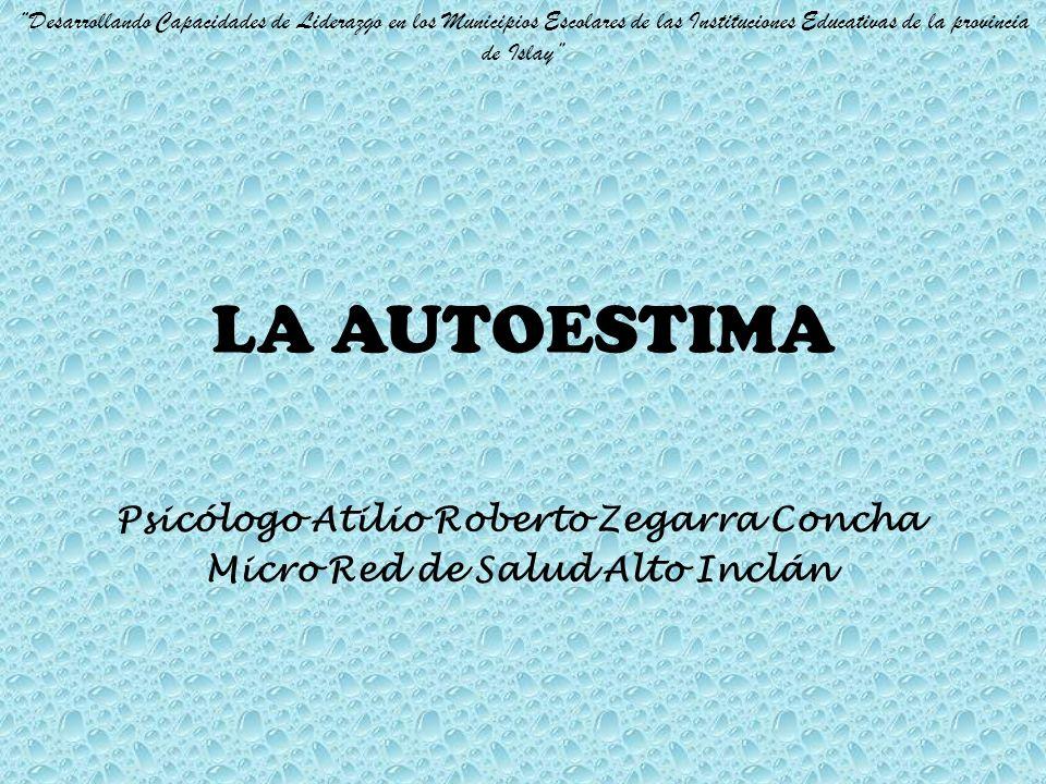 Psicólogo Atilio Roberto Zegarra Concha Micro Red de Salud Alto Inclán