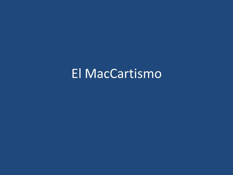 El MacCartismo