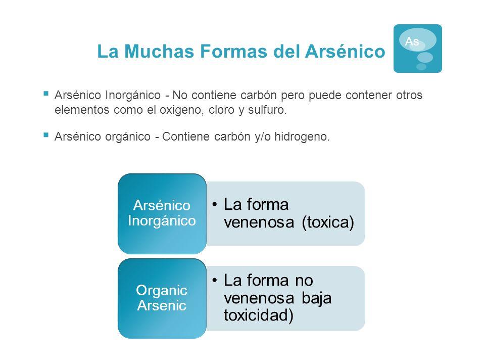 La Muchas Formas del Arsénico