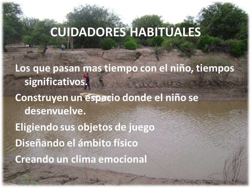 CUIDADORES HABITUALES