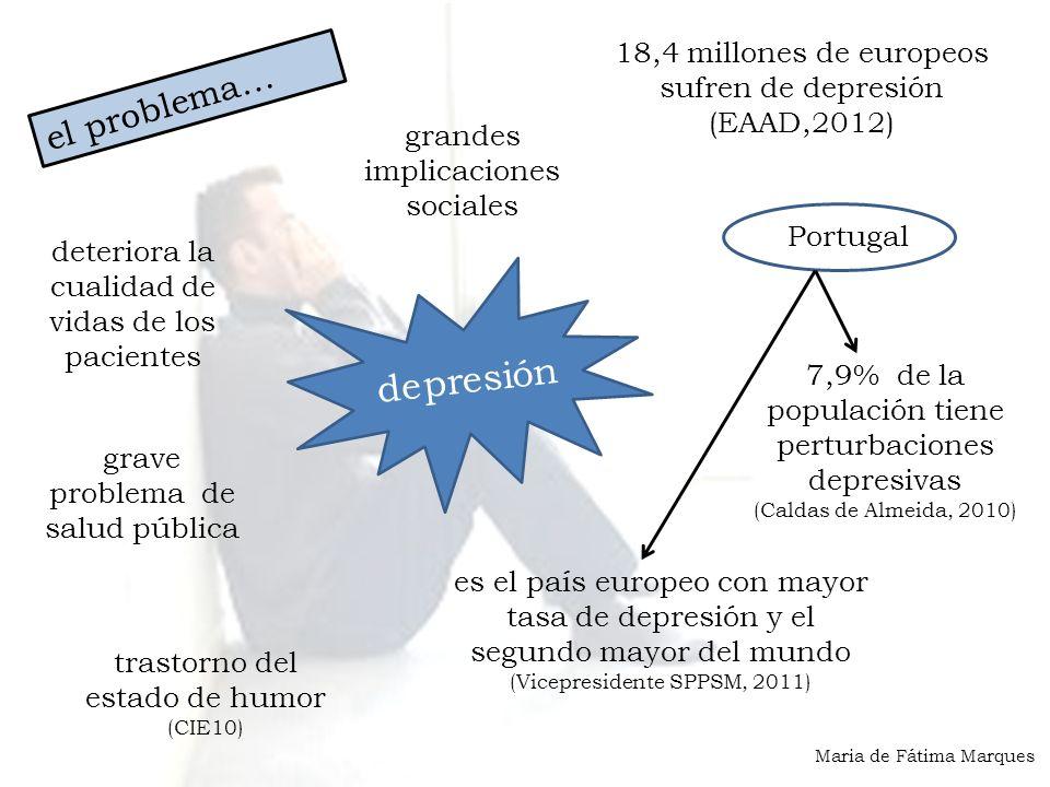 depresión el problema… 18,4 millones de europeos sufren de depresión