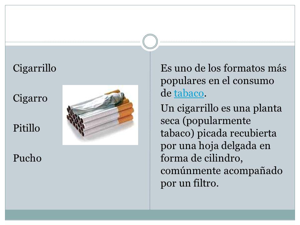 Cigarrillo Cigarro Pitillo Pucho