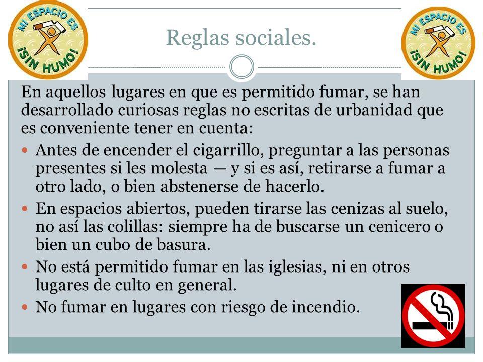 Reglas sociales.