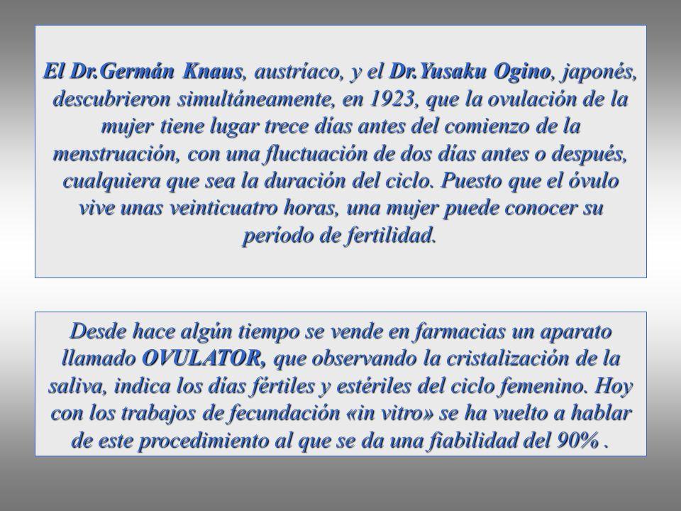 El Dr. Germán Knaus, austríaco, y el Dr