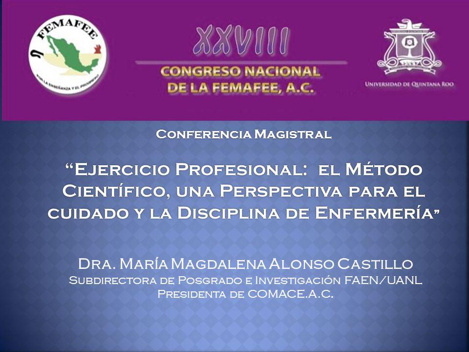 Dra. María Magdalena Alonso Castillo