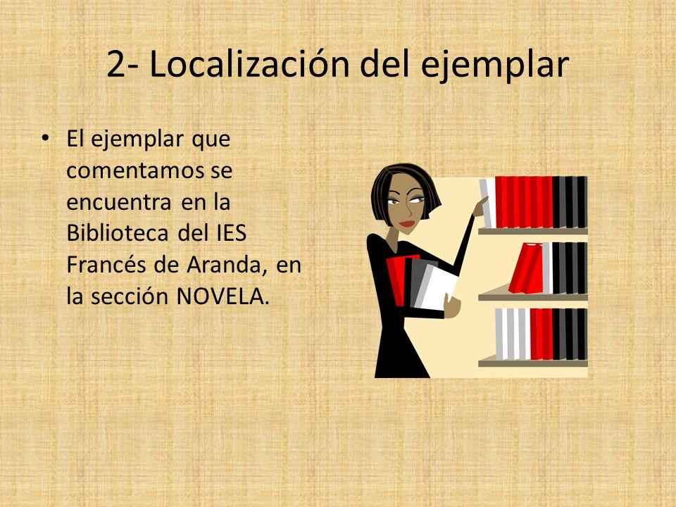 2- Localización del ejemplar