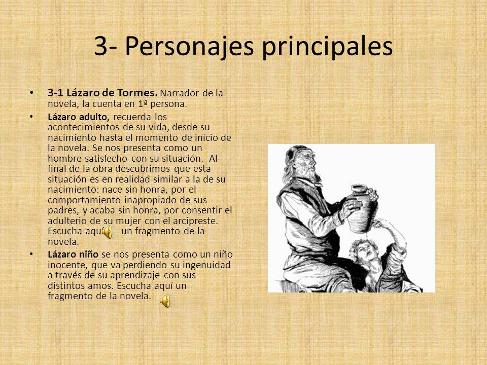3- Personajes principales