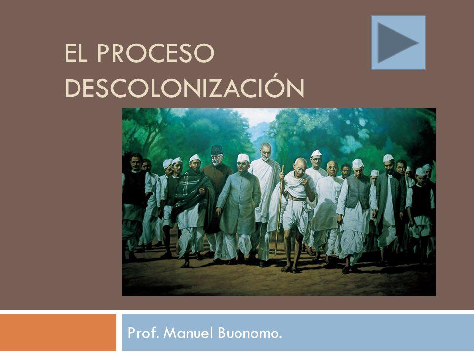 El proceso Descolonización