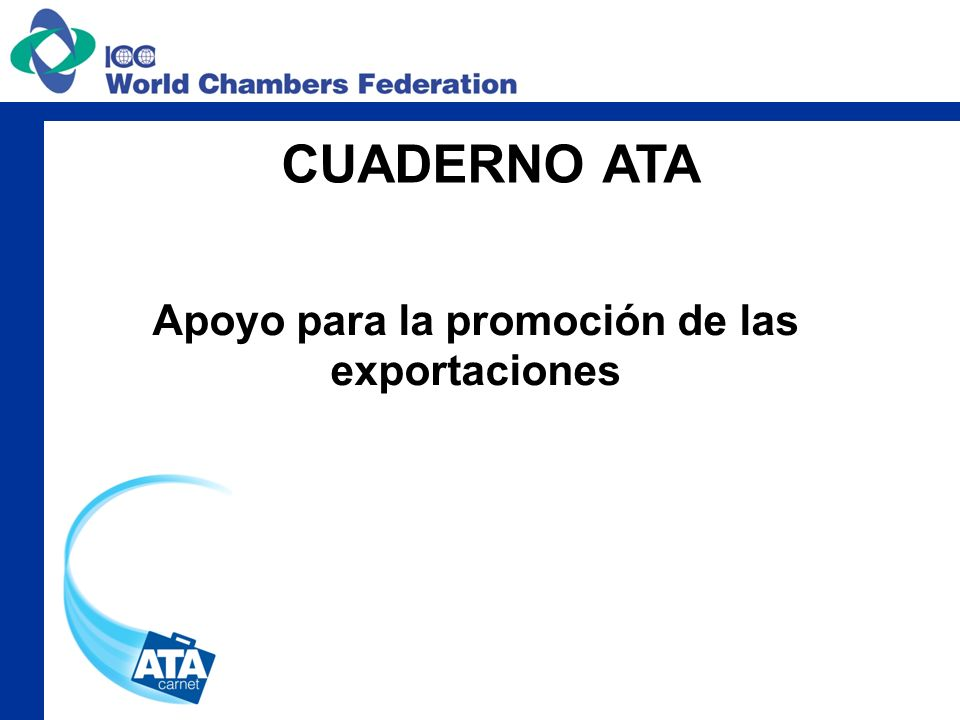 Apoyo para la promoción de las exportaciones