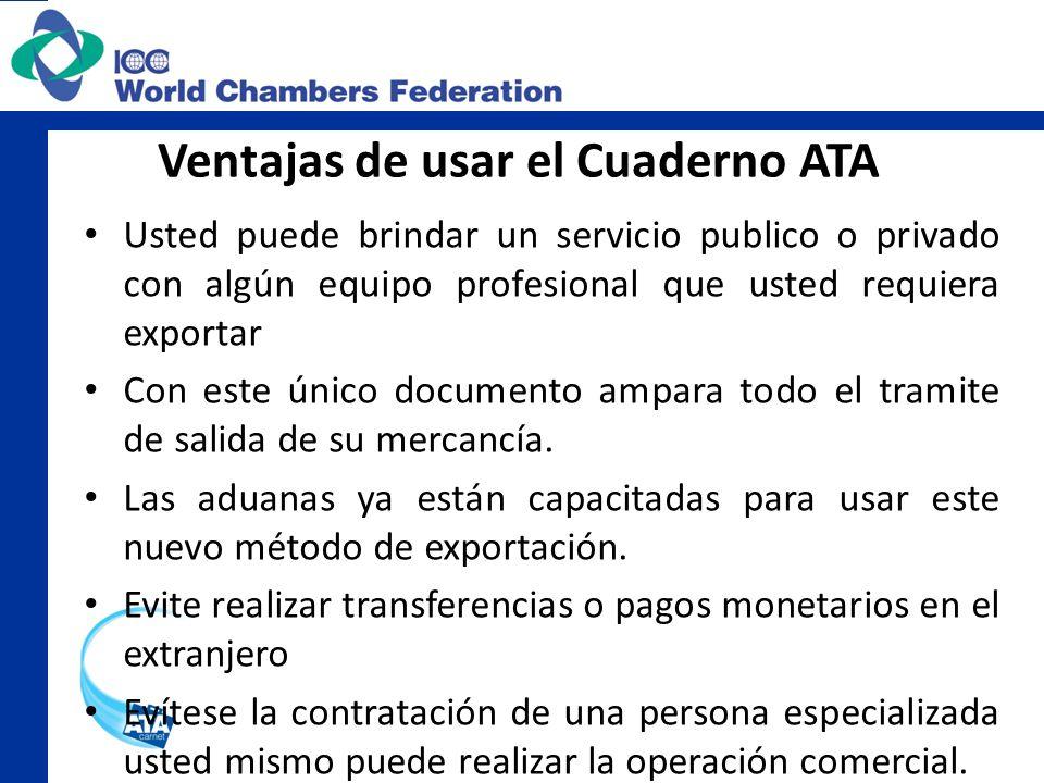 Ventajas de usar el Cuaderno ATA