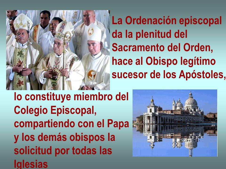 La Ordenación episcopal