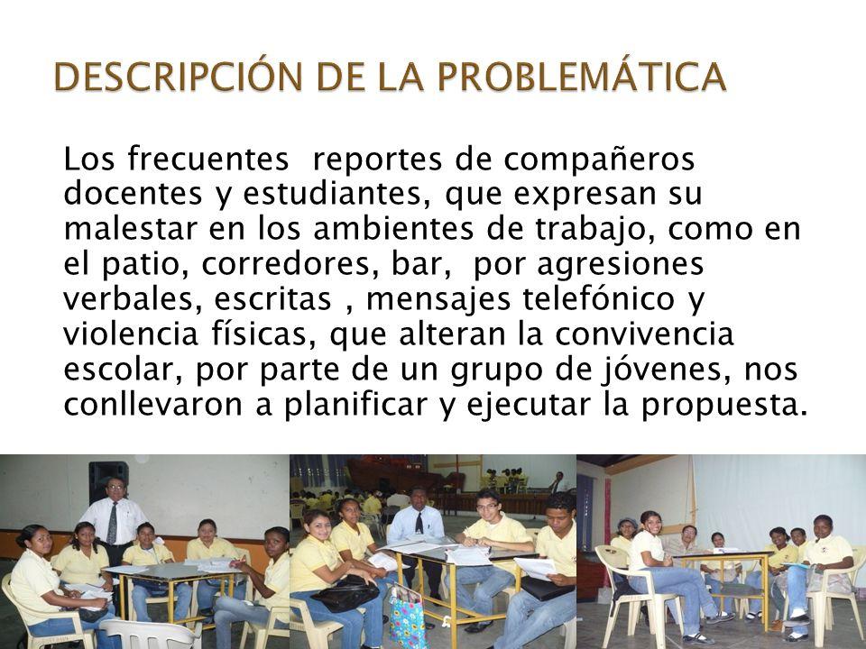 DESCRIPCIÓN DE LA PROBLEMÁTICA