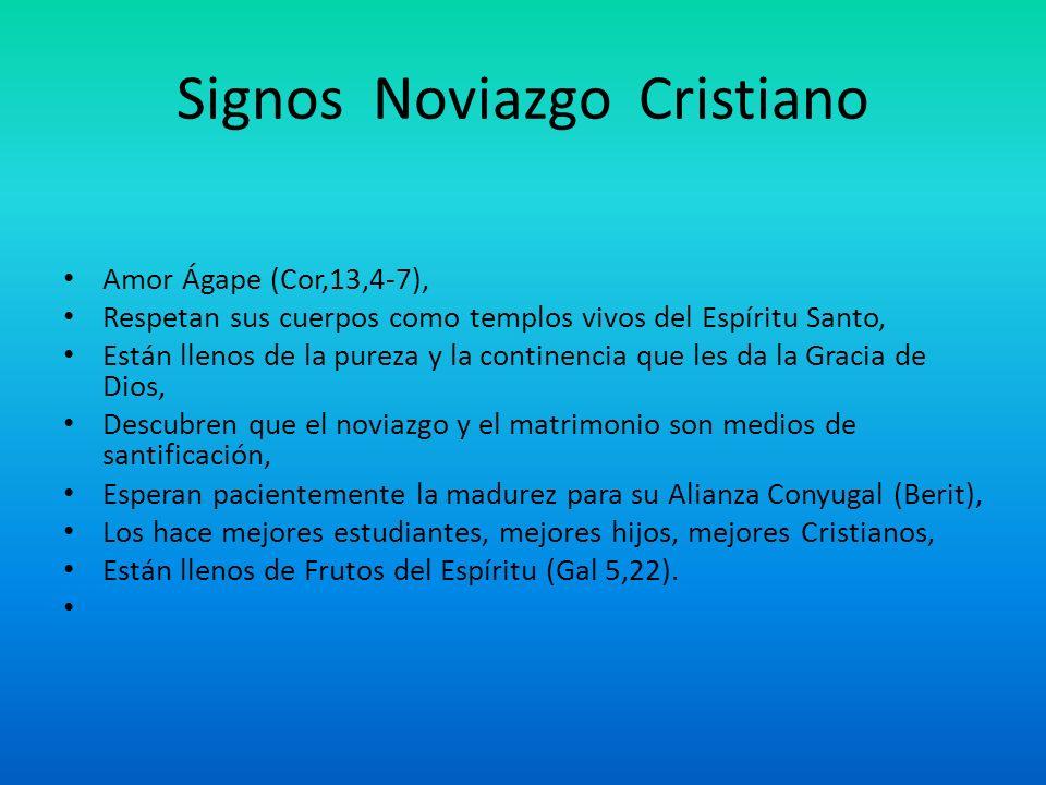 Signos Noviazgo Cristiano