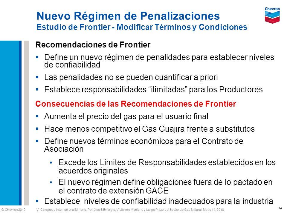 Nuevo Régimen de Penalizaciones Estudio de Frontier - Modificar Términos y Condiciones