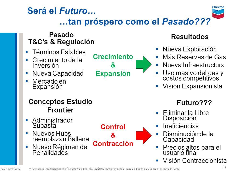 Será el Futuro… …tan próspero como el Pasado