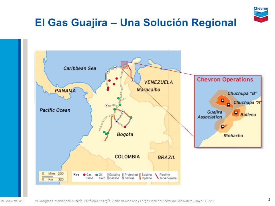 El Gas Guajira – Una Solución Regional
