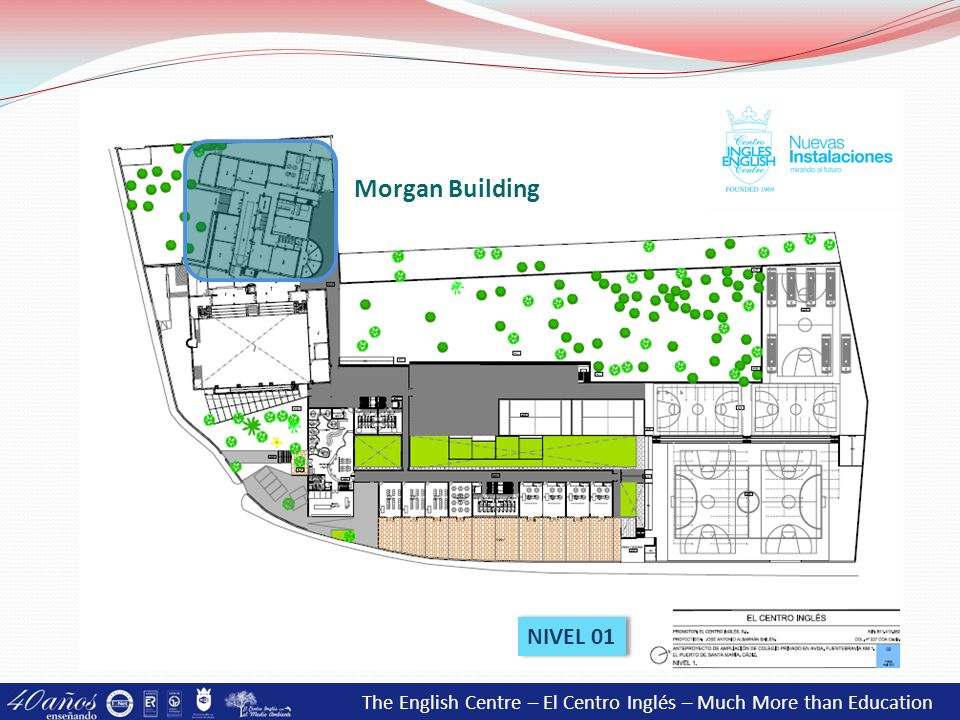 Morgan Building NIVEL 01 The English Centre – El Centro Inglés – Much More than Education 15