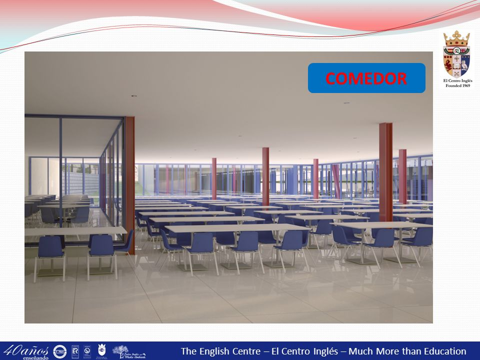 COMEDOR The English Centre – El Centro Inglés – Much More than Education 42