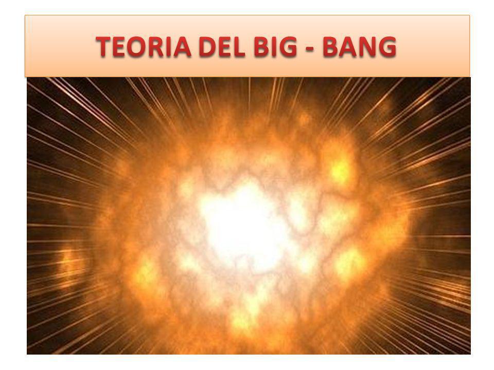 TEORIA DEL BIG - BANG