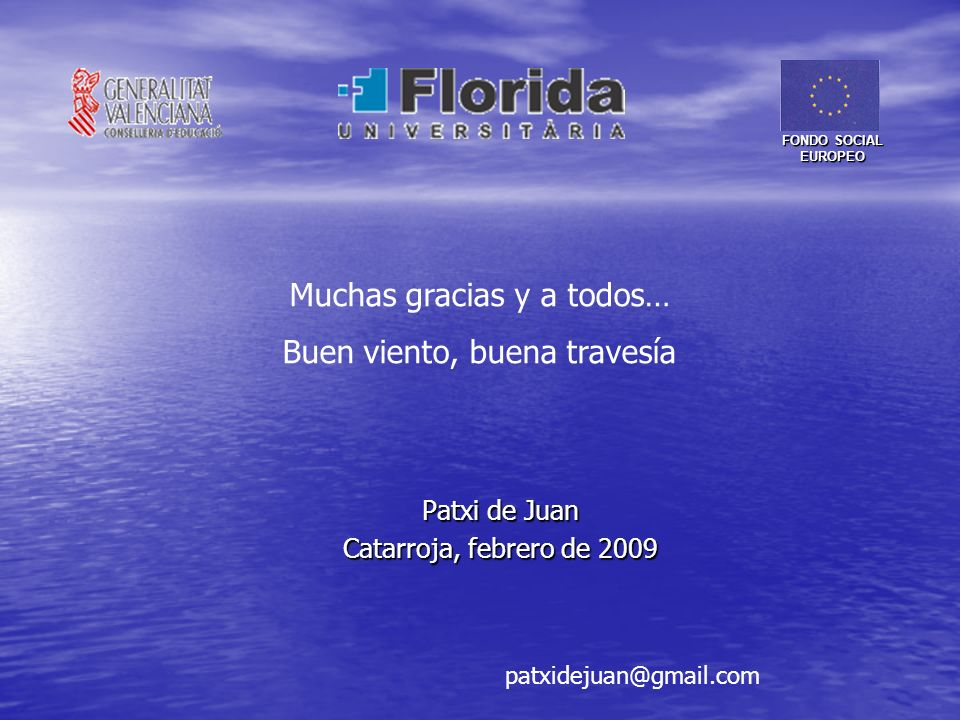 Patxi de Juan Catarroja, febrero de 2009