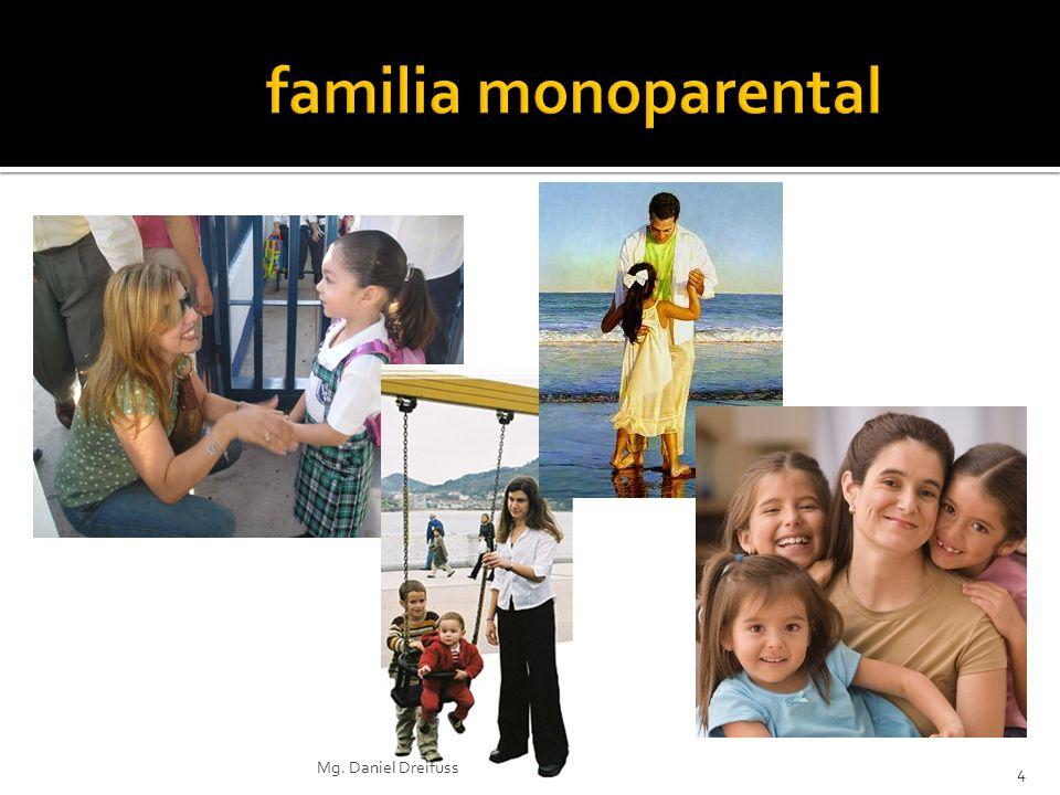 La familia monoparental