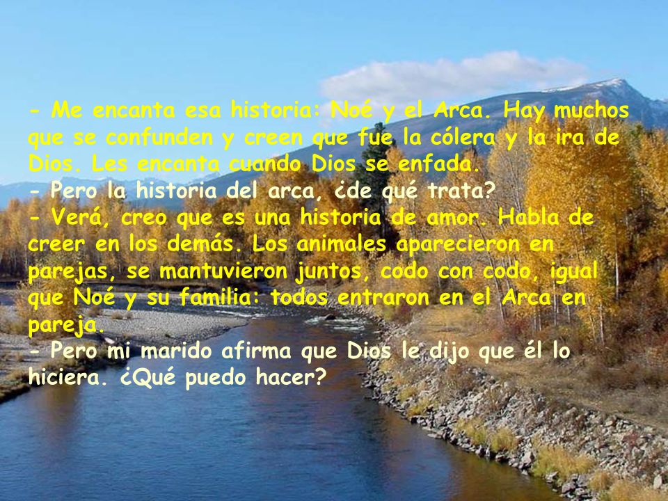 - Me encanta esa historia: Noé y el Arca