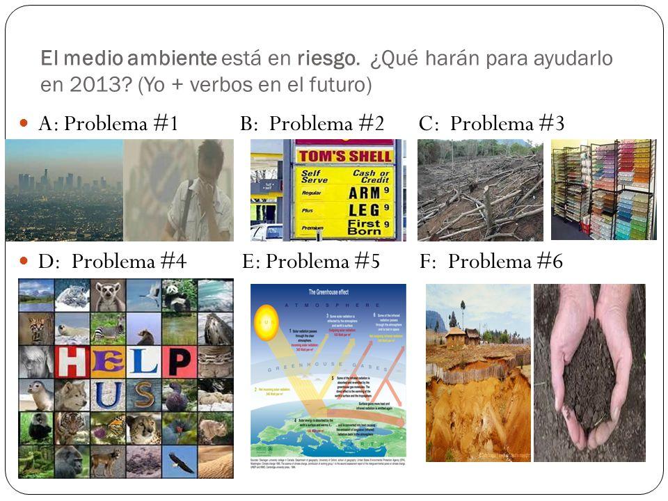 A: Problema #1 B: Problema #2 C: Problema #3