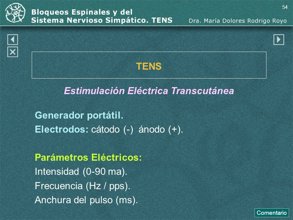 Estimulación Eléctrica Transcutánea