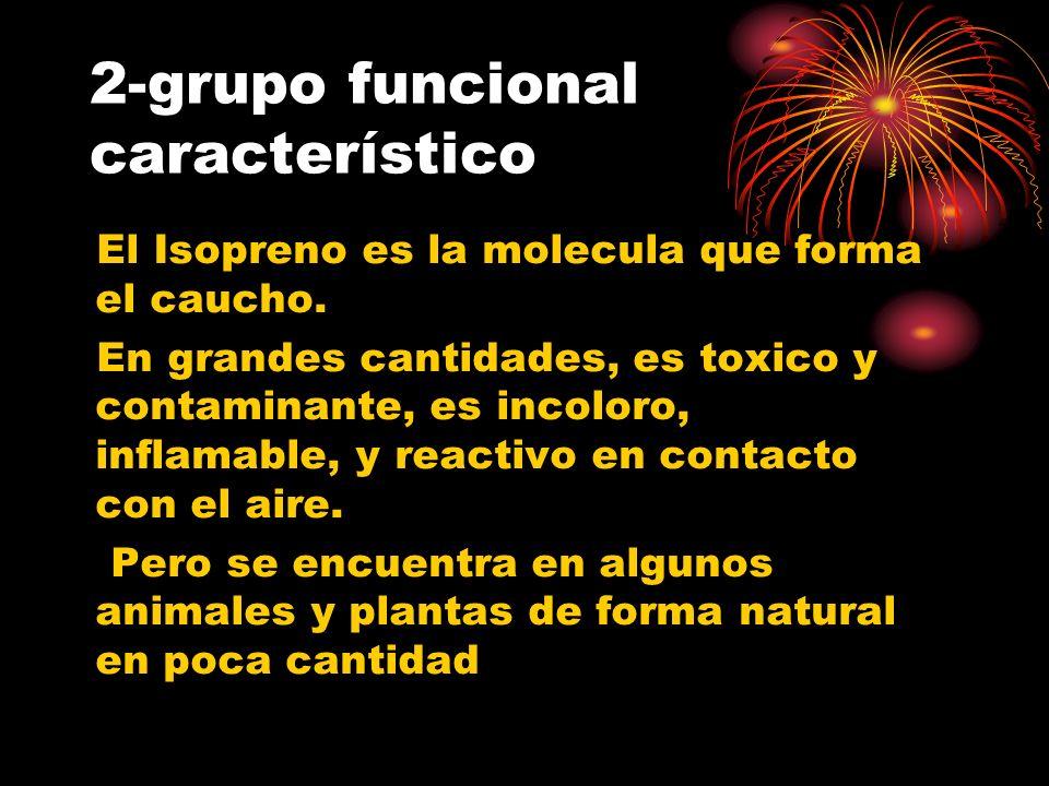 2-grupo funcional característico