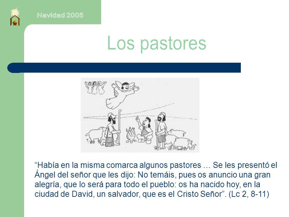 Navidad 2005 Los pastores.