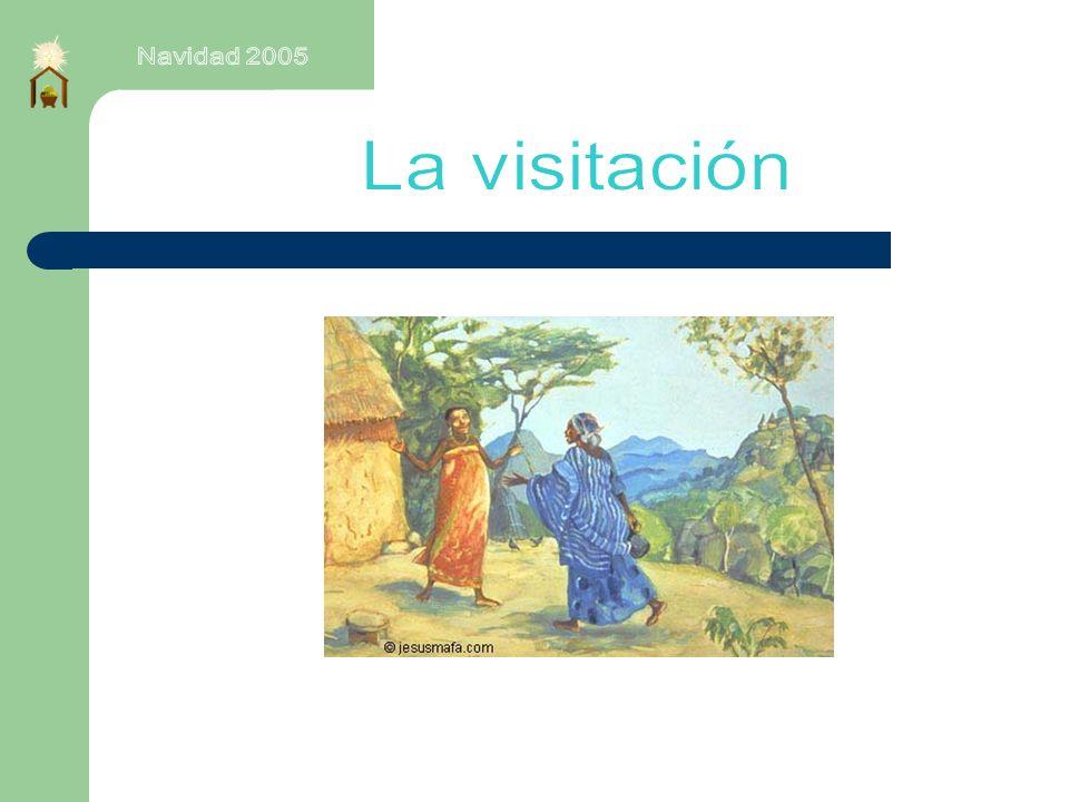 Navidad 2005 La visitación