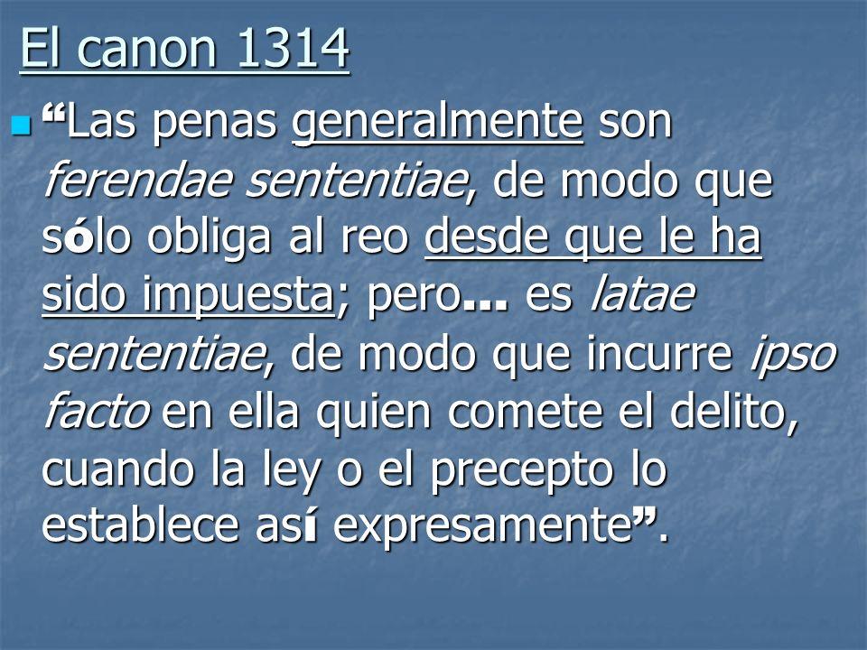 El canon 1314