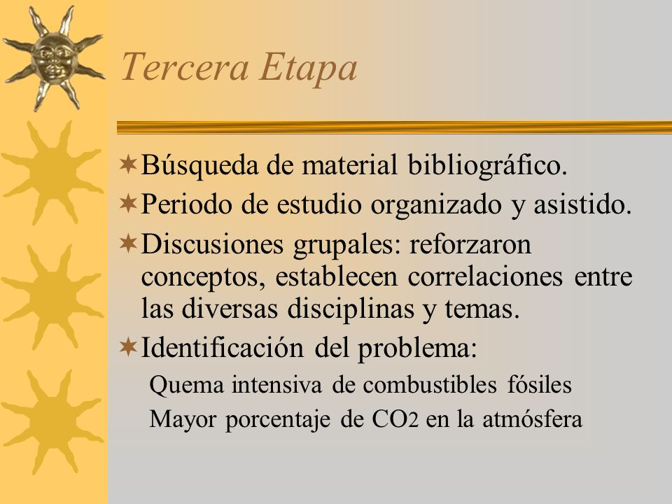Tercera Etapa Búsqueda de material bibliográfico.