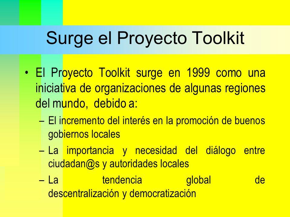 Surge el Proyecto Toolkit