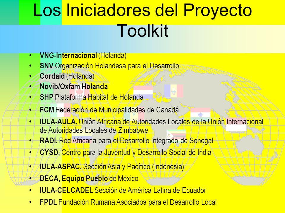 Los Iniciadores del Proyecto Toolkit