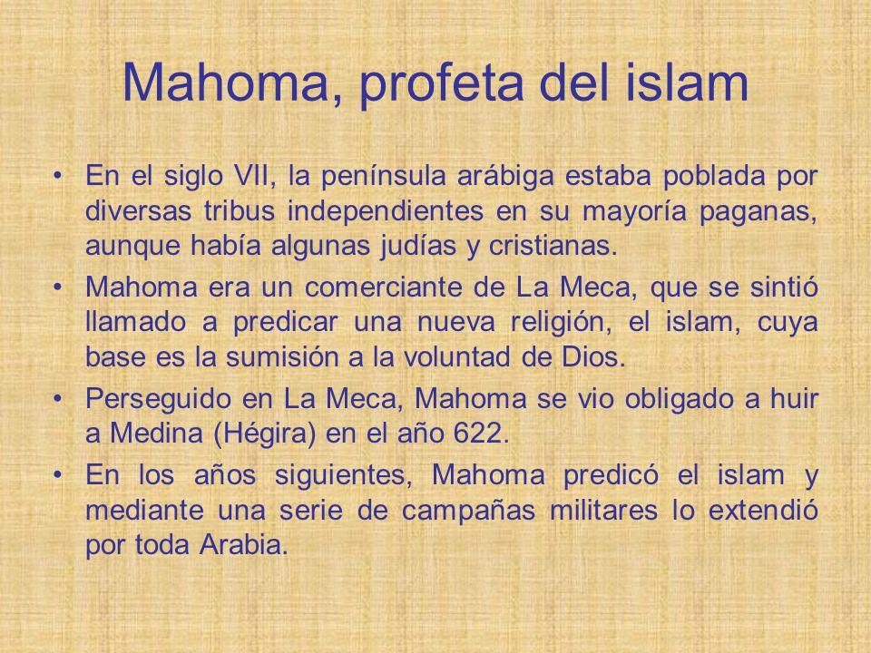 Mahoma, profeta del islam