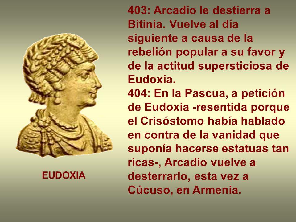 403: Arcadio le destierra a Bitinia