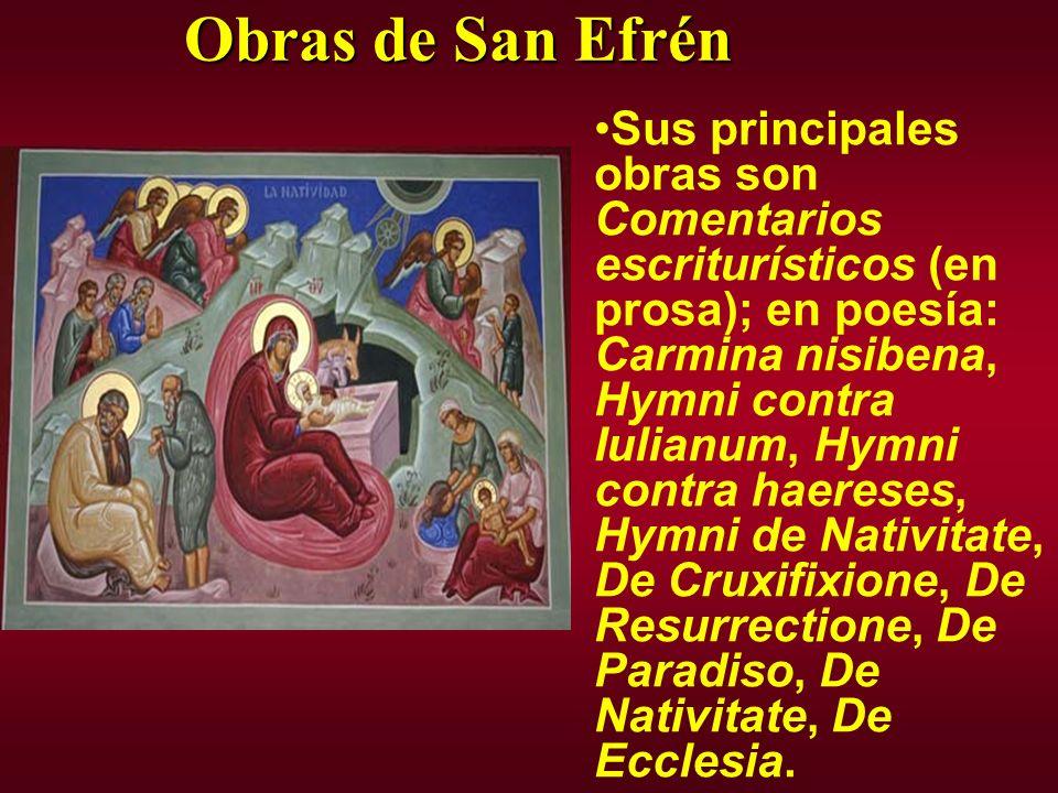 Obras de San Efrén