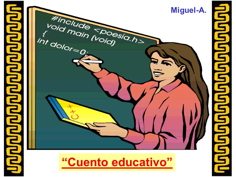Miguel-A. Cuento educativo