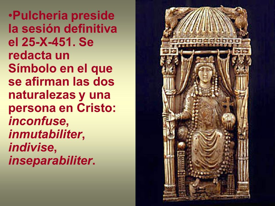 Pulcheria preside la sesión definitiva el 25-X-451