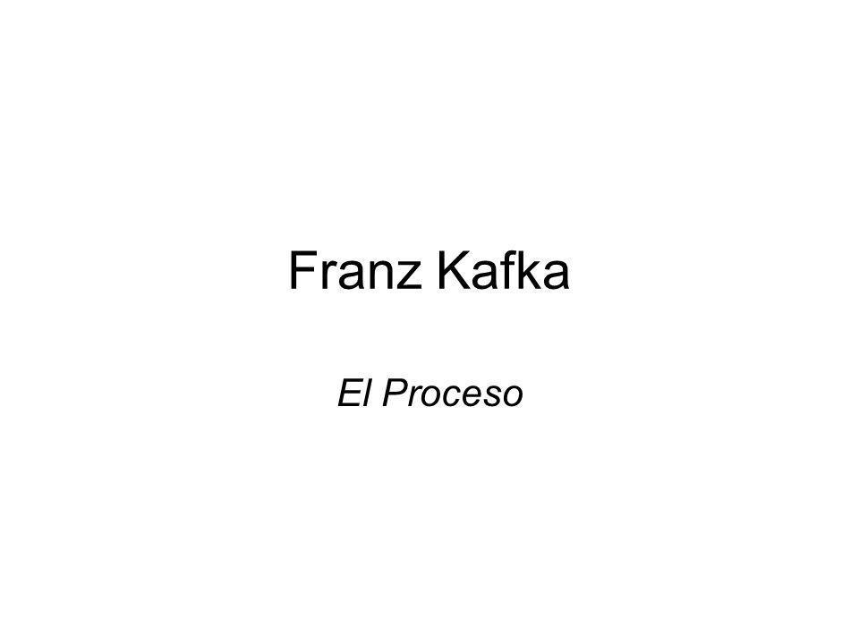 Franz Kafka El Proceso