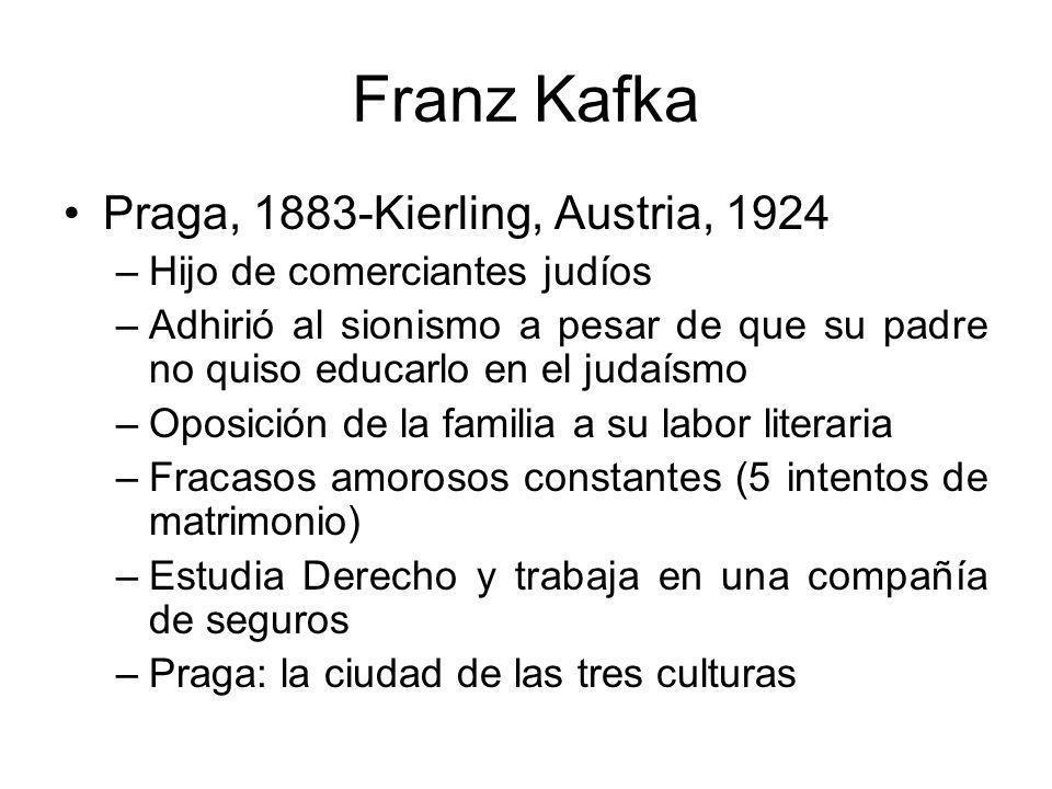 Franz Kafka Praga, 1883-Kierling, Austria, 1924